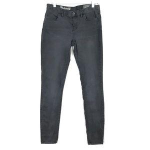 Madewell Gray Stretch Leggings Skinny Jeans 29